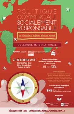 Socially Responsible Trade Policy in Canada and Abroad   Feb 27 to February 28, 2019