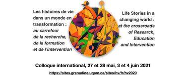 Préparez-vous à l'événement Les histoires de vie dans un monde en transformation! | 27 mai au  4 juin 2021