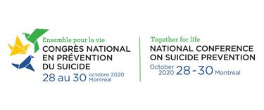Together for life NATIONAL CONFERENCE ON SUICIDE PREVENTION | Oct 28 to October 30, 2020
