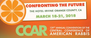CCAR Convention 2018 | Mar 18 to March 21, 2018
