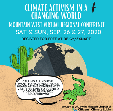 Citizens' Climate Mountain West Regional Conference 2020 | Sep 26 to September 27, 2020