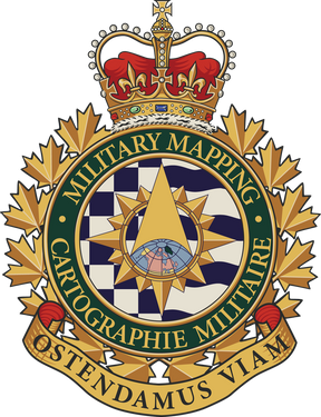 Military Geomatics, Canadian Armed Forces