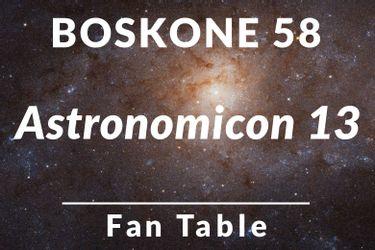 Astronomicon 13