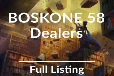 Boskone 58 Dealers Room List