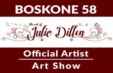 Julie Dillon - Boskone 58 Official Artist